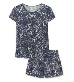 Pyjama short Leonie pour femme MARINE