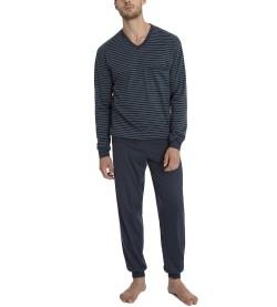 Pyjama long pour homme Morris BLEU