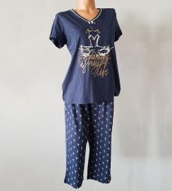 Pyjama 3 pièces pour femme 39 BLEU