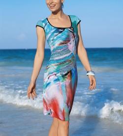 Robe de plage Paper Art MULTICOLOR