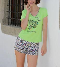 Pyjama short pour femme ANIS
