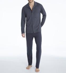 Pyjama boutonné pour homme Glen GRIS