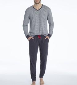Pyjama long pour homme Kolia GRIS