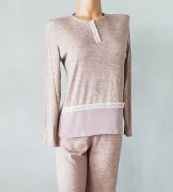 Pyjama boutonné tricot pour femme VISON