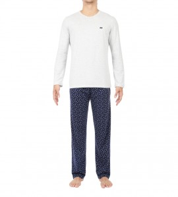 Pyjama long Colibri pour Homme MARINE 00RA