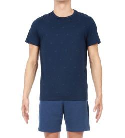 Pyjama court Triangle Homme MARINE OORA
