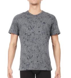 T-shirt de pyjama Animals Homme MARINE GRIS