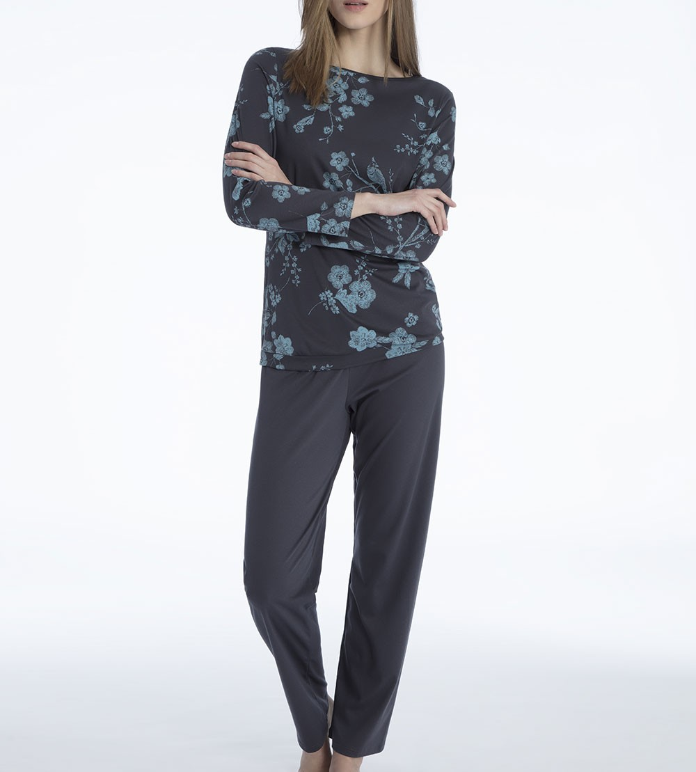 997 Femme Periscope En Sipp Gris Pyjama Coton Pour Lingerie 3L4A5Rjq