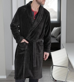 Robe de chambre croisée pour homme VISON