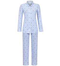 Pyjama rayé à petits cœurs CIEL