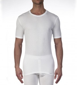 T-shirt manches courtes Termotex BLANC