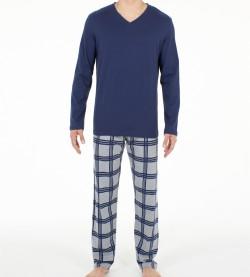 Pyjama long Columbus pour Homme MARINE OORA
