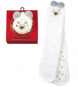 Cozy Winter Socks anti dérapantes CHIEN
