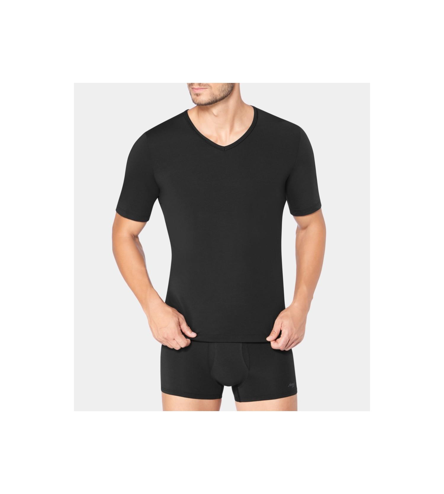 182958ed697f T Men homme Fresh shirt NOIR Sipp Lingerie Ever Sloggi qRpFUzR