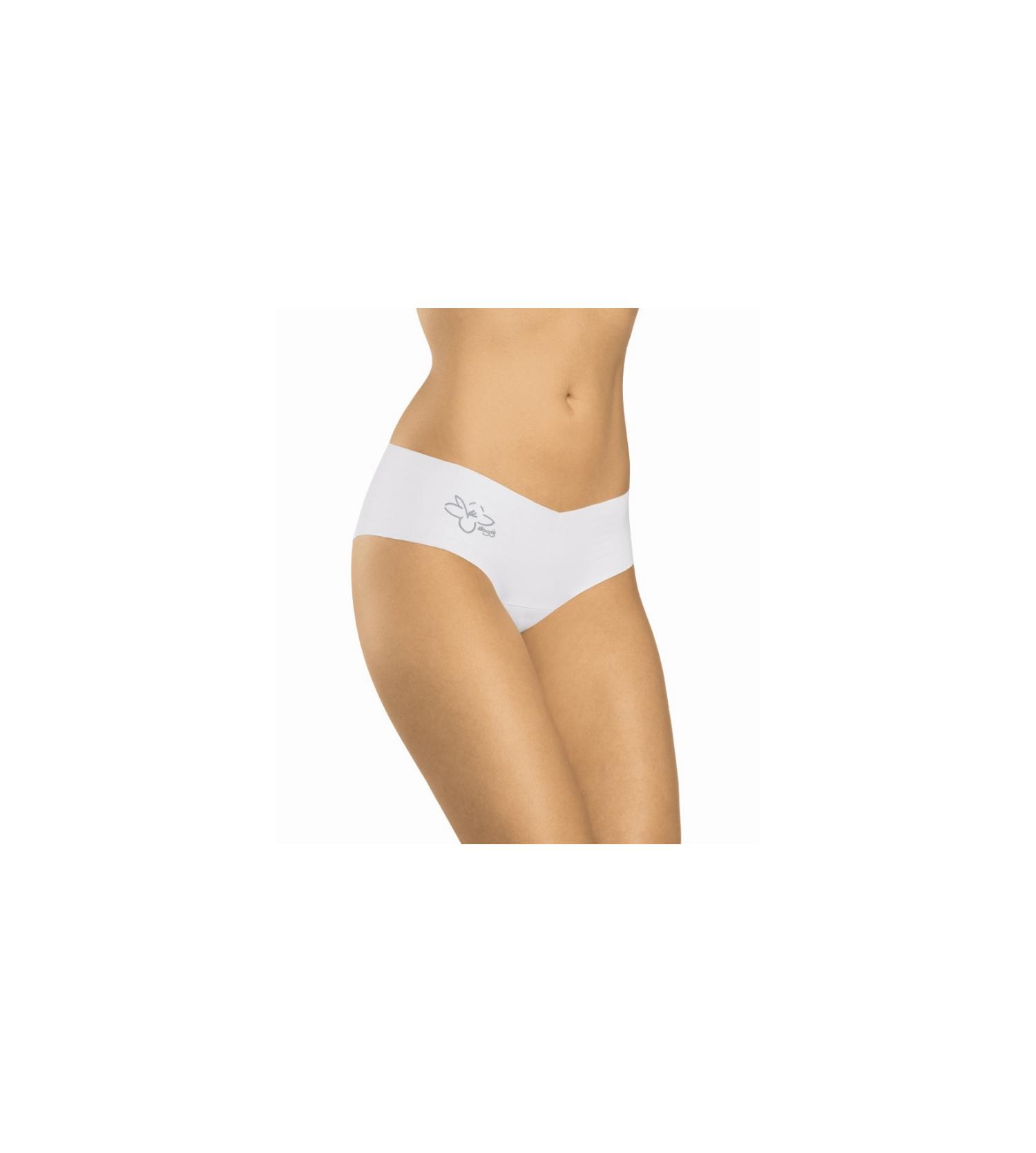 shorty invisible light coton blanc lingerie sipp. Black Bedroom Furniture Sets. Home Design Ideas