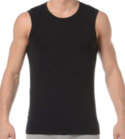 T-shirt sans manches Smart Cotton NOIR