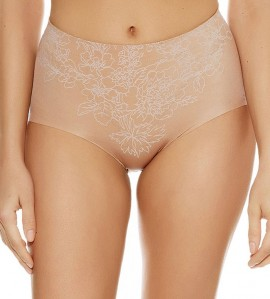 Culotte gainante Flower Power PEAU